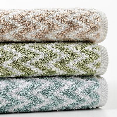 Apt 9 Quick Drying Chevron Bath Towels