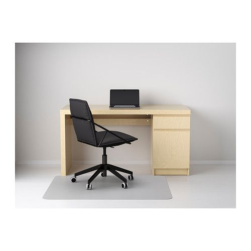 malm desk ikea you can collect cables and extension cords. Black Bedroom Furniture Sets. Home Design Ideas