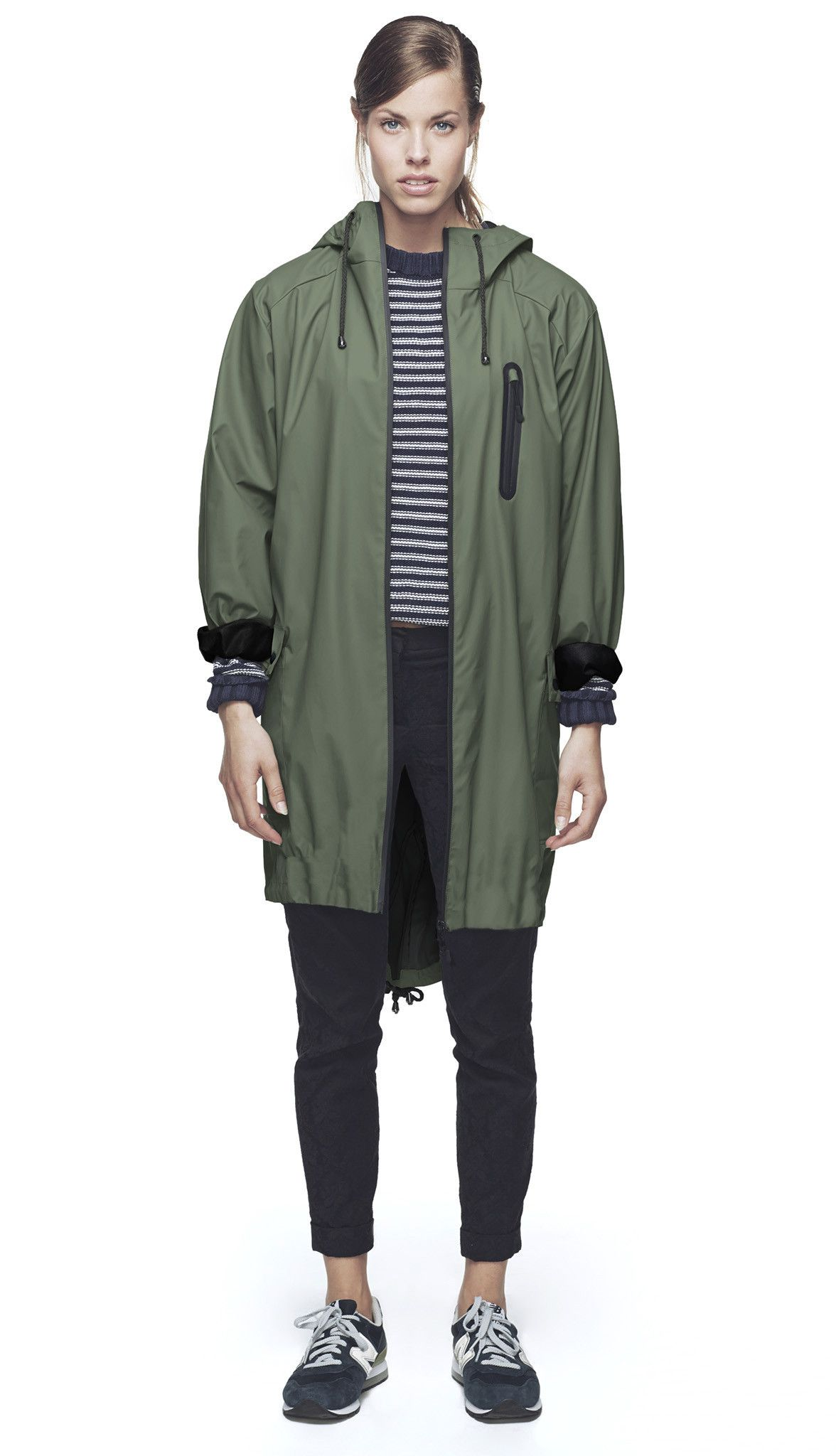 The RAINS Parka Coat is our interpretation of the classic M-51 ...