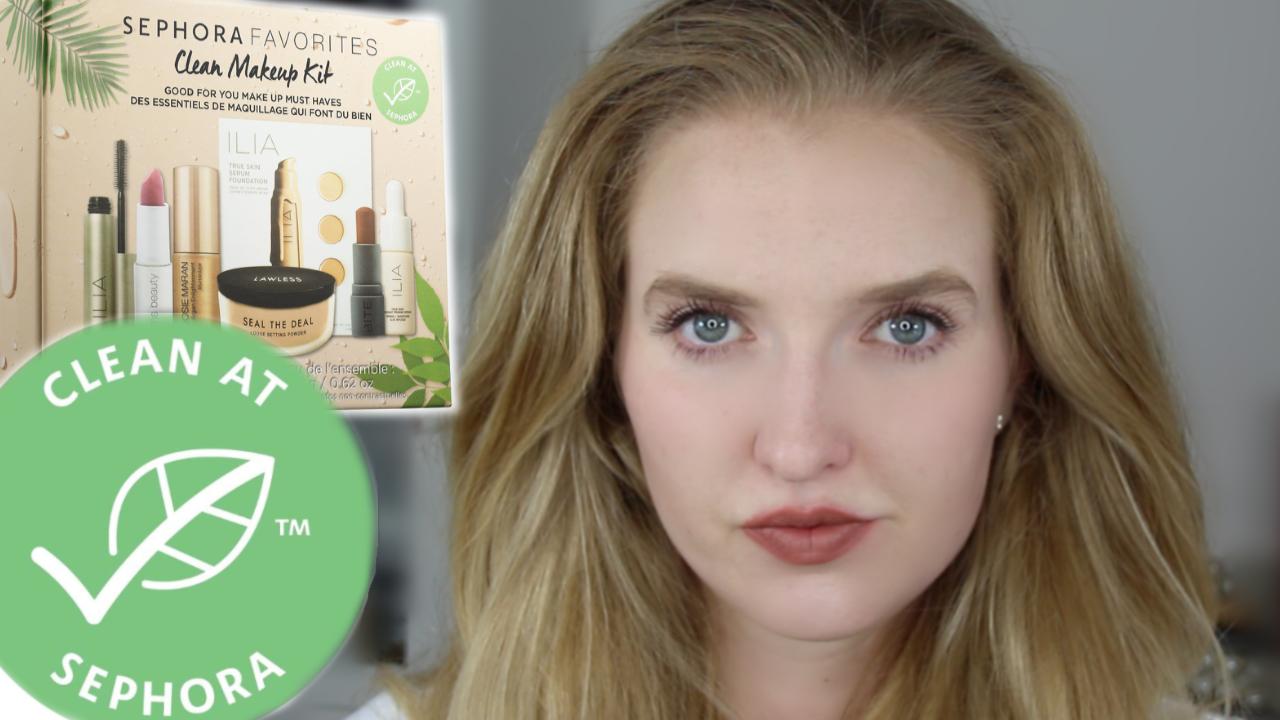 Clean at Sephora Makeup Kit Sephora makeup kit, Makeup