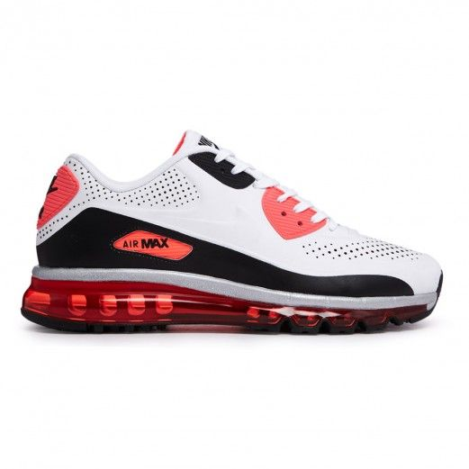 Nike Air Max 90 2014 Leather Qs 646909 100 Sneakers