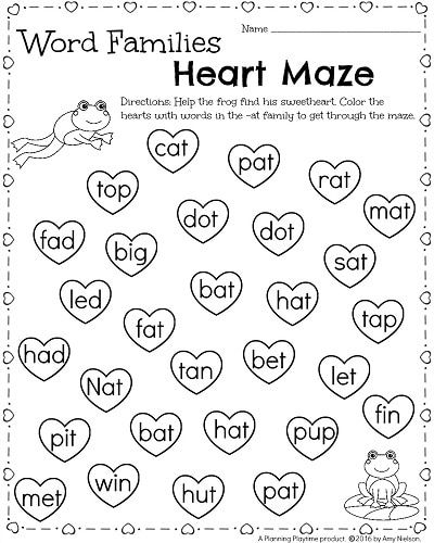 kindergarten math and literacy worksheets for february kindergarten activities literacy. Black Bedroom Furniture Sets. Home Design Ideas