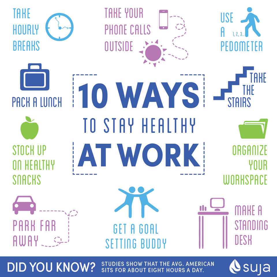 10 Ways to Stay Healthy at Work How to stay healthy