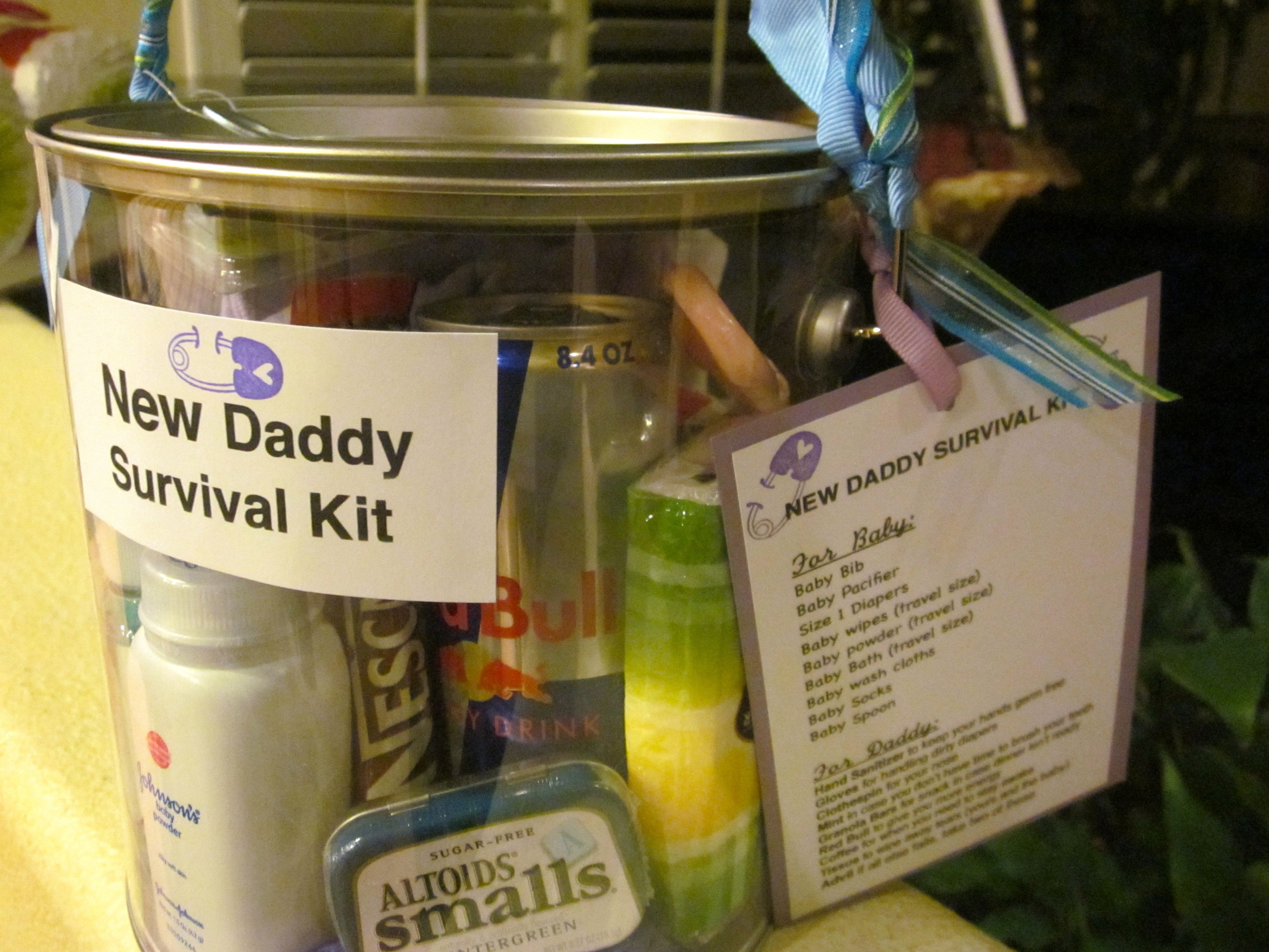 New Daddy Survival Kit e new Daddy deserves a t too