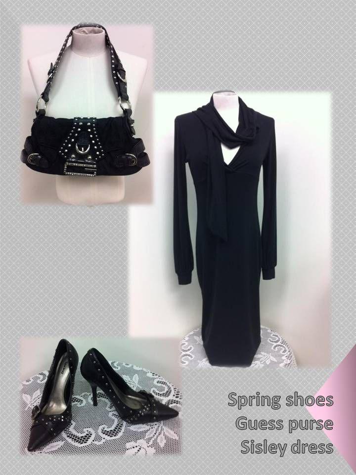 elegant in black