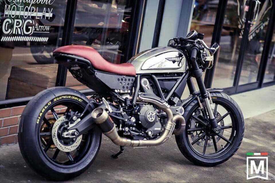 Ducati Scrambler Mods Cafe Racer Custom Ducati Scrambler Ducati Cool Bikes