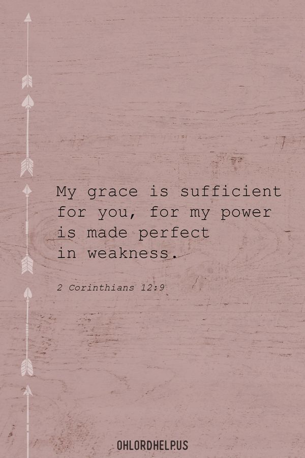 Middle: Trusting God's Grace to Empower Us Daily