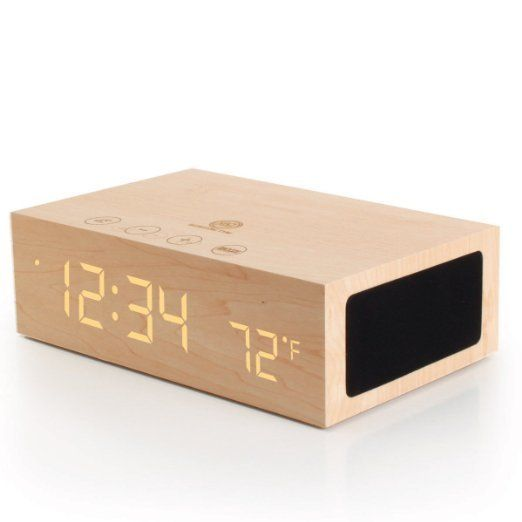 Love The Design Of This Alarm Clock Luvocracy Design Objects