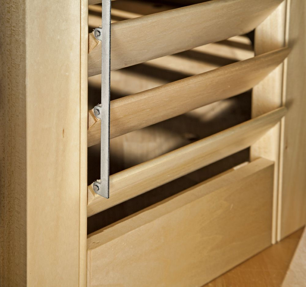 how to make wooden louvered windows google search. Black Bedroom Furniture Sets. Home Design Ideas