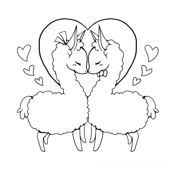 Llama Coloring Page Free Coloring Page Template Printing Printable Llama Coloring Pages For Kids Llama Al Animal Coloring Pages Llama Drawing Coloring Pages