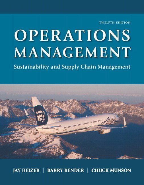 read the description carefully operations management