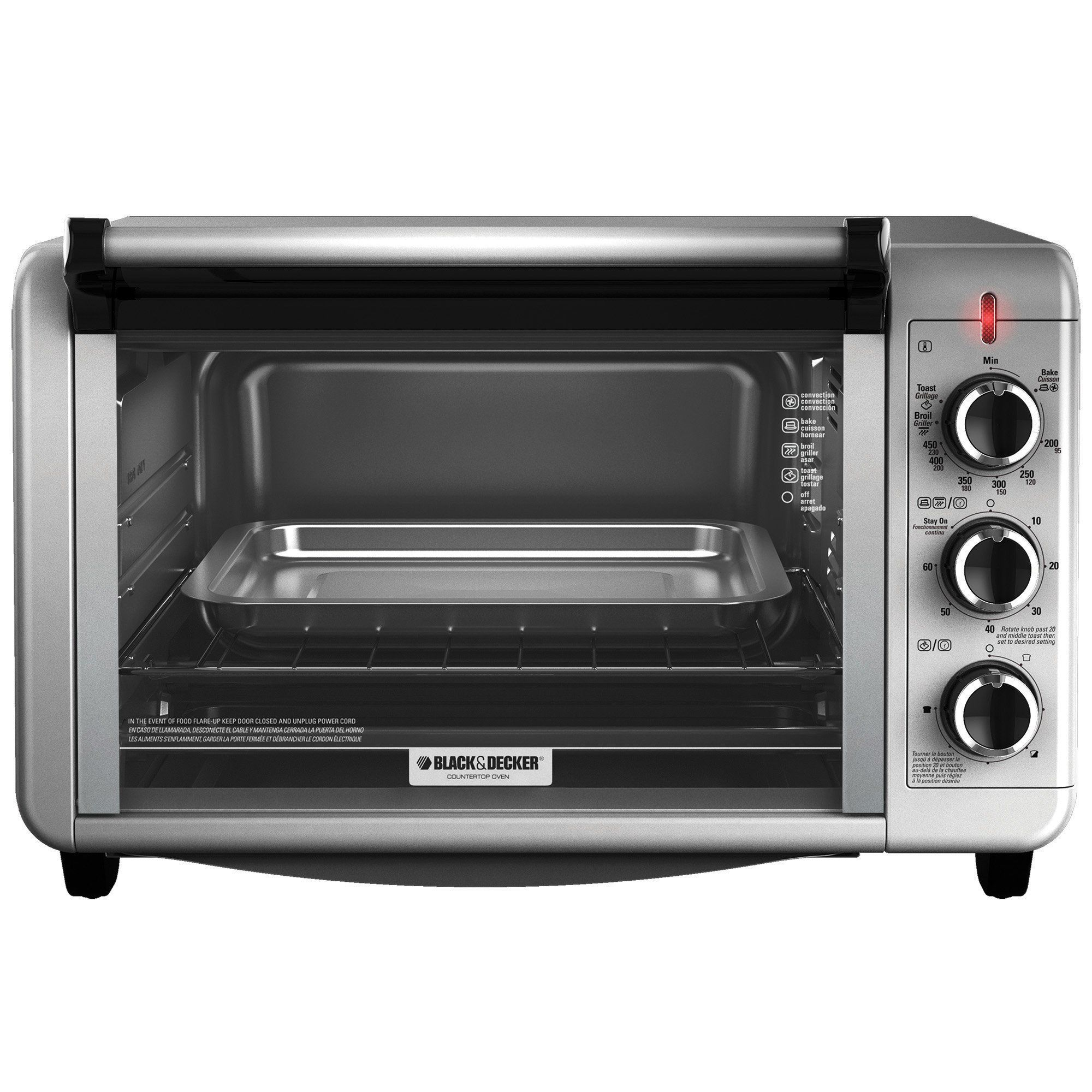stainless prod toaster qlt oven convection slice black hei wid over kenmore steel spin p