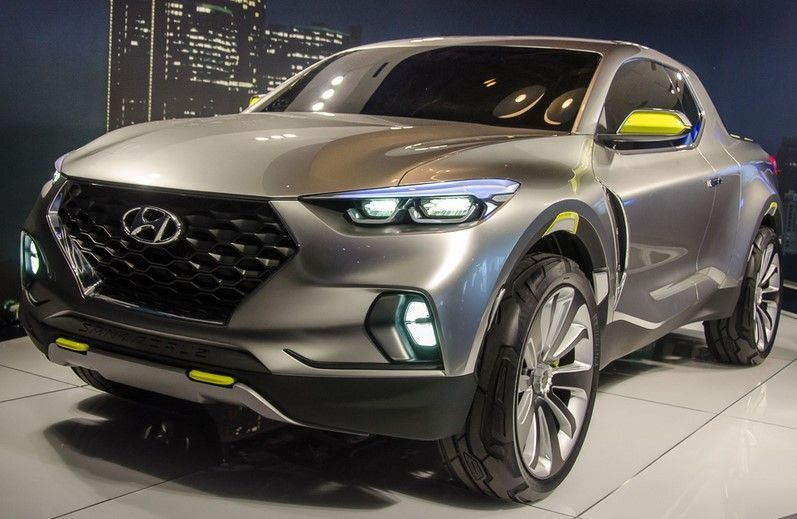 2018 hyundai truck. Wonderful Truck The 2018 Hyundai Santa Cruz Looks Amazing And The Production Car Should  Not Be Far From It Some Official Reports Suggest That Future Truck Will  Throughout Hyundai S