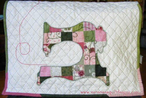 Patchwork Sewing Machine Cover Quilt Pattern | Quilting ... : sewing machine quilting patterns - Adamdwight.com