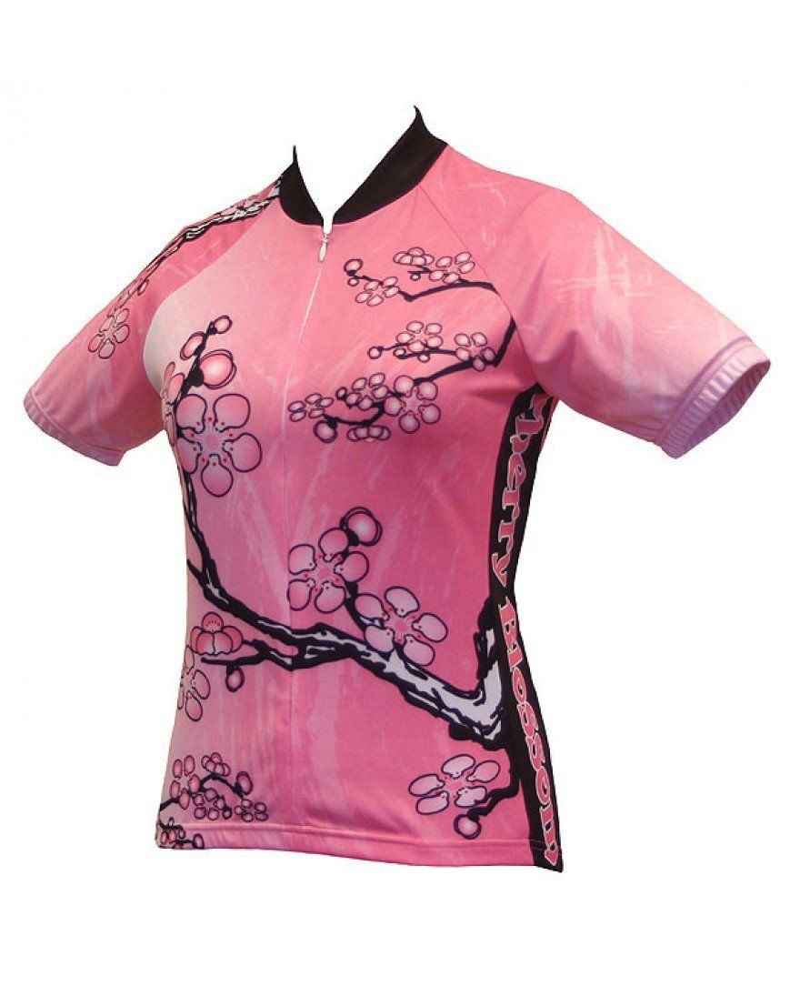 Cherry Blossom Cycling Jersey  4d372183c