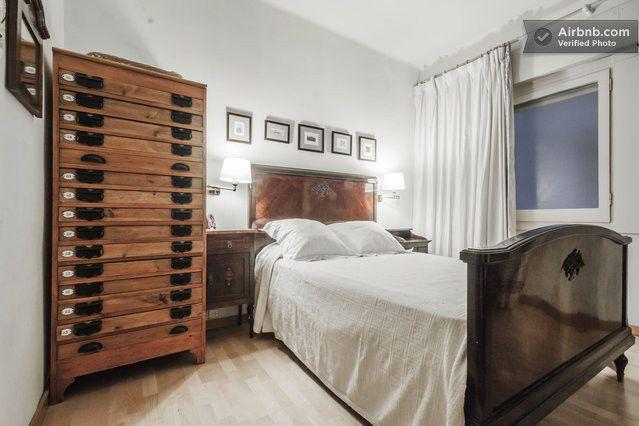 Near Born & beach,  1 double + 1 sofa bed (in living room) + bunks, £85