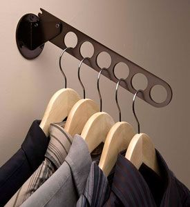 Create Convenient Sturdy Hanging Storage For Clothes Hangers With The Wall Mount Oil Rubbed Bronze Hanger Valet This St Hanger Clothes Hanger Hanging Storage