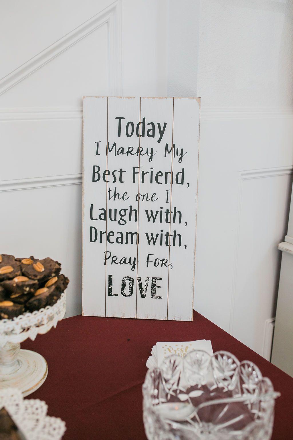 Wedding Venue Rockwall Manor Wedding quote signs