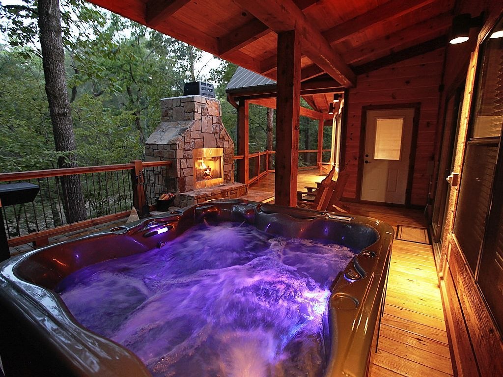 Vrbo Com 820231 Sunset Creek Spa Cabin Luxury Spa Cabin With Wet Steam Spa With Aromatherapy Broken Bow Cabins