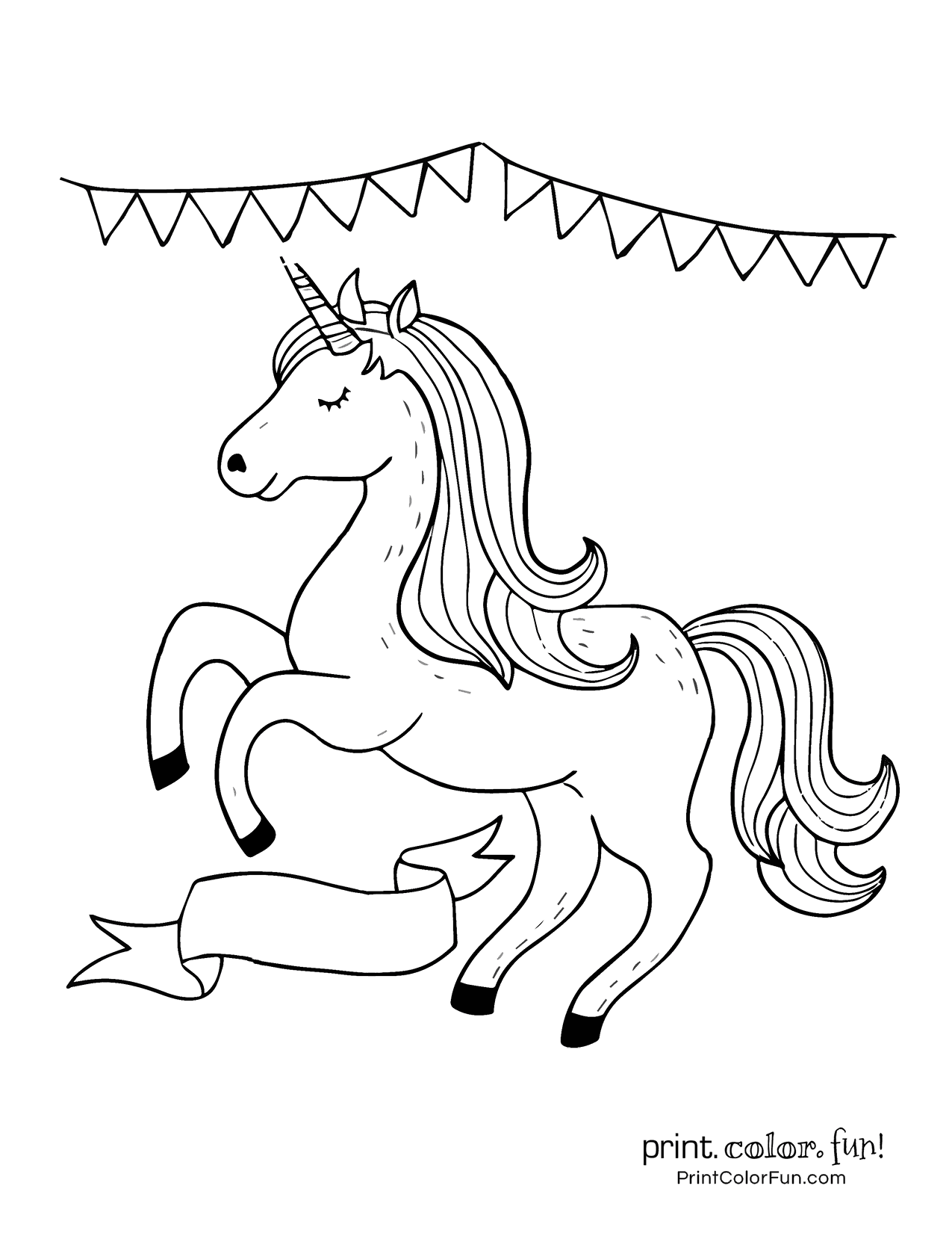 100 Magical Unicorn Coloring Pages The Ultimate Free Printable Collection At Print Color Fun Unicorn Coloring Pages Coloring Pages Mermaid Coloring Pages