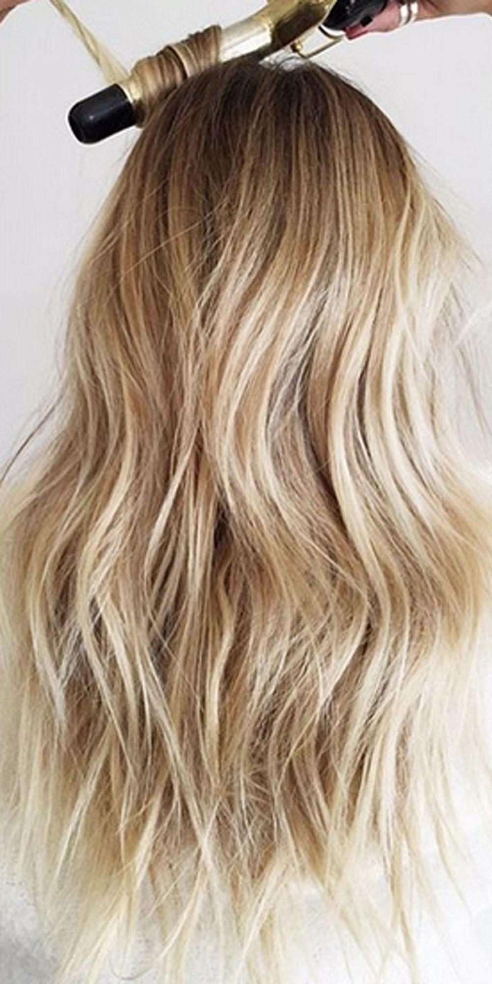 tongs curling hairstyles waves loose curl curls updo