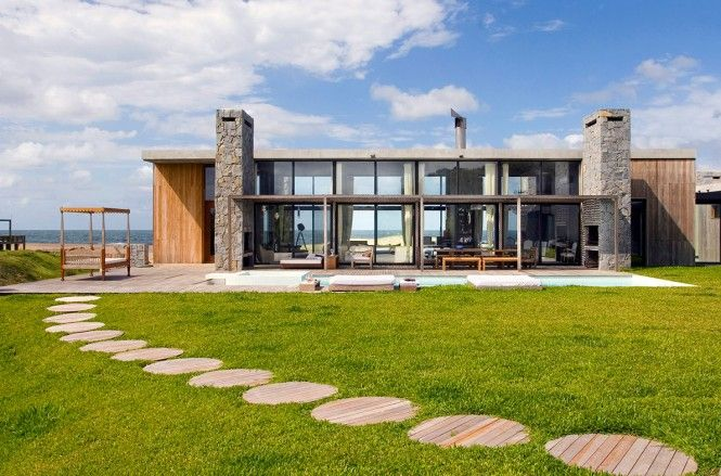 La boyita house uruguay this striking contemporary style home with incredible sea and woodland