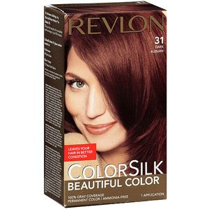 Revlon Colorsilk Beautiful Color Permanent Hair 31 Dark Auburn Next For