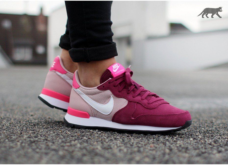 nike internationalist damen villain red