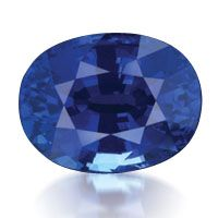 The sapphire comes from the Greek work for blue, sappheiros, and this gem provides one of the most beautiful hues of blue. #GIABirthstones (01/17/13)