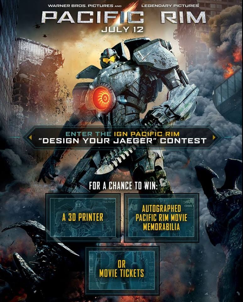 Pacific Rim Director Guillermo Del Toro Invites You To Design Your   Create  Your Own Movie  Create Your Own Movie Ticket