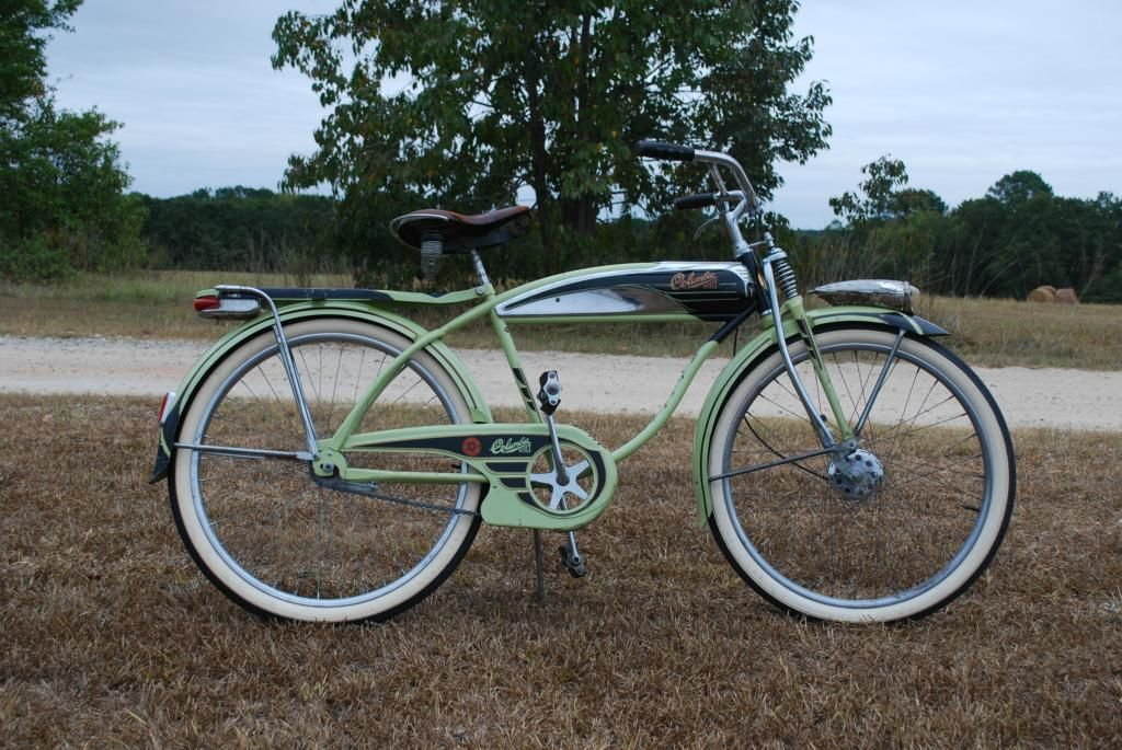 1951 Pope Columbia Five Star Super Equipped Vintage Bicycles Bicycle Old Bicycle