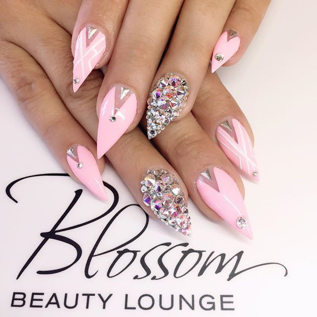Pin by Lizzie Bowers on Nails | Pinterest | Crazy nails, French ...