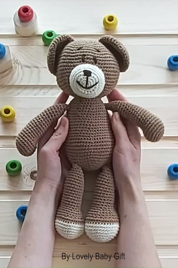 Photo of Crochet Pattern to make Teddy Bear Toy