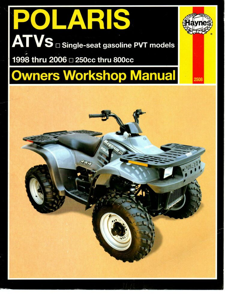Haynes Owners Workshop Manual Polaris Atvs Big Boss Scrambler Trail Blazer Xpres 9781563926310 Ebay Trailblazer Atv Manual