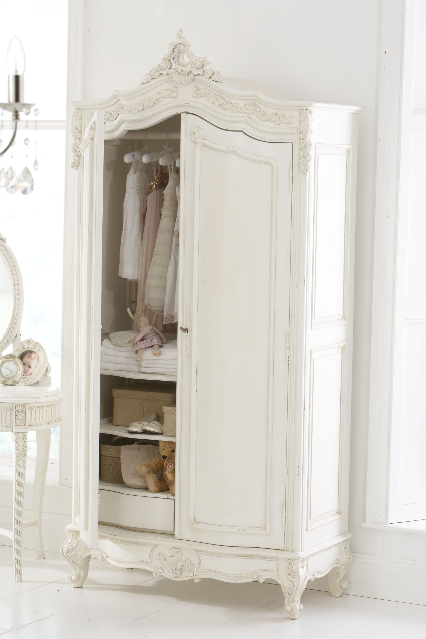 wardrobe i would remove the doors and put a curtain in. Black Bedroom Furniture Sets. Home Design Ideas