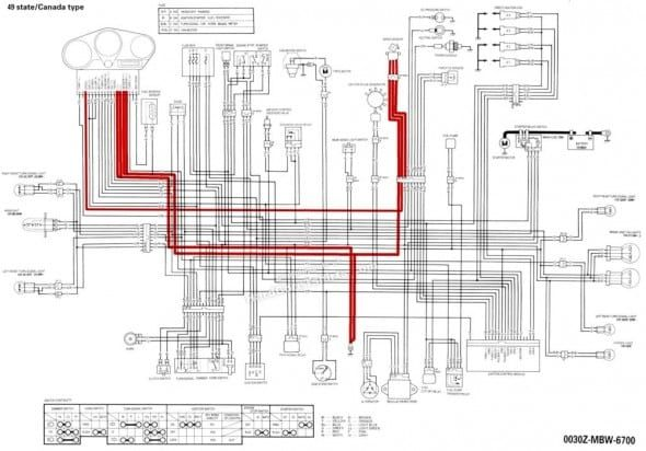Honda Cbr 600 F2 Wiring Diagram Cbr 600 Cbr Motos Geniales