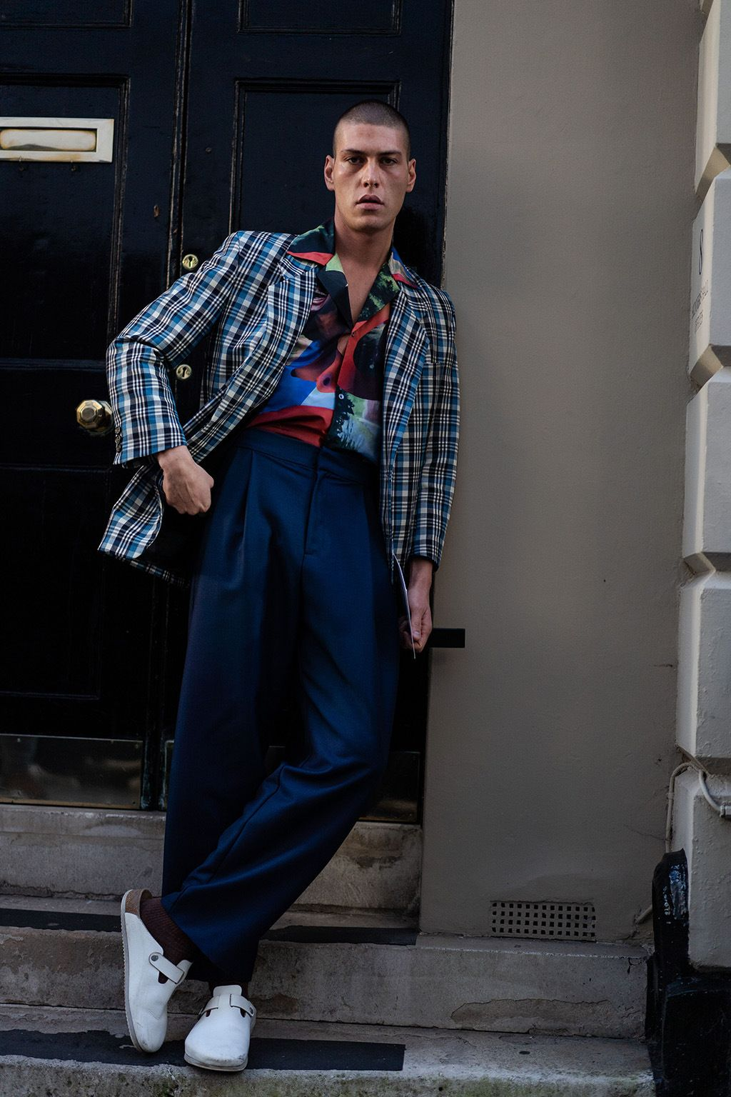 Standout Street Style Looks At London Fashion Week Men S Fall 20 In 2020 London Fashion Week Street Style Men Street Style London Fashion Week Mens