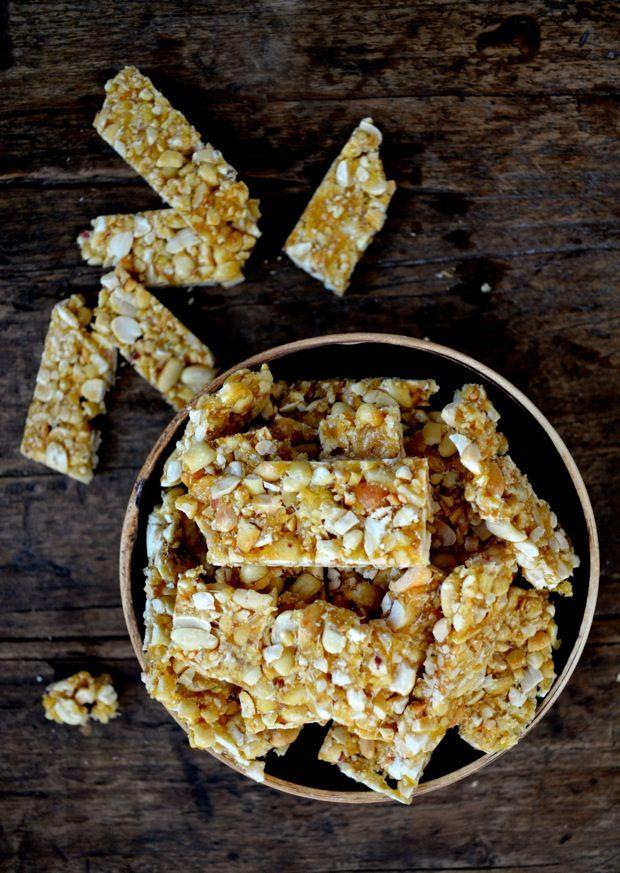 Homemade Chinese Sesame Peanut Brittle Recipe Peanut