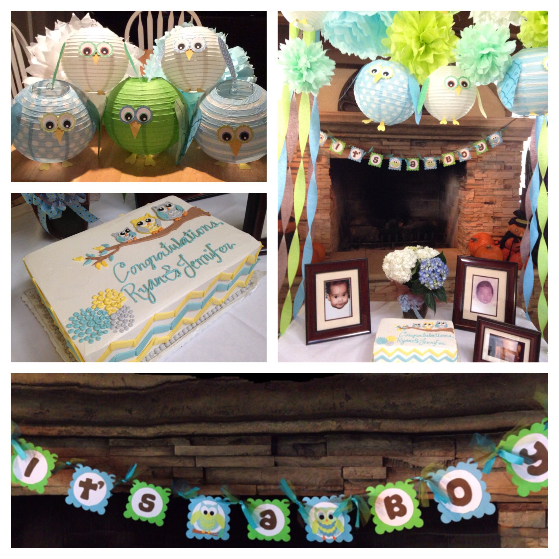 Owl Themed Party For Baby Boy