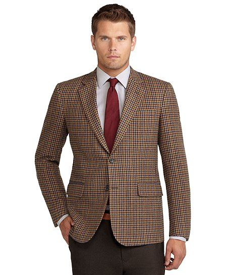Madison Fit District Check Sport Coat Tan. $418.80 | Blazers ...