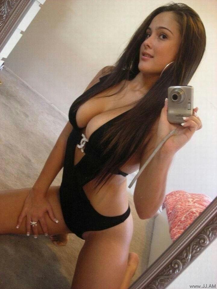 Naked black slims girl