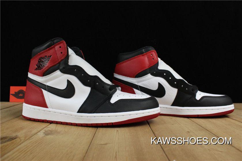 Goat Air Jordan 1 Black Toe Super Deals