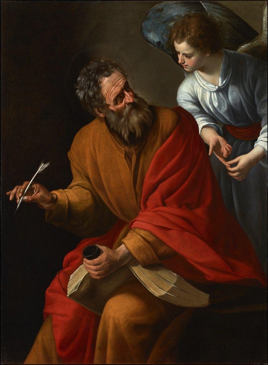 San Mateo y el ángel | Religión, Juan el bautista, Arte
