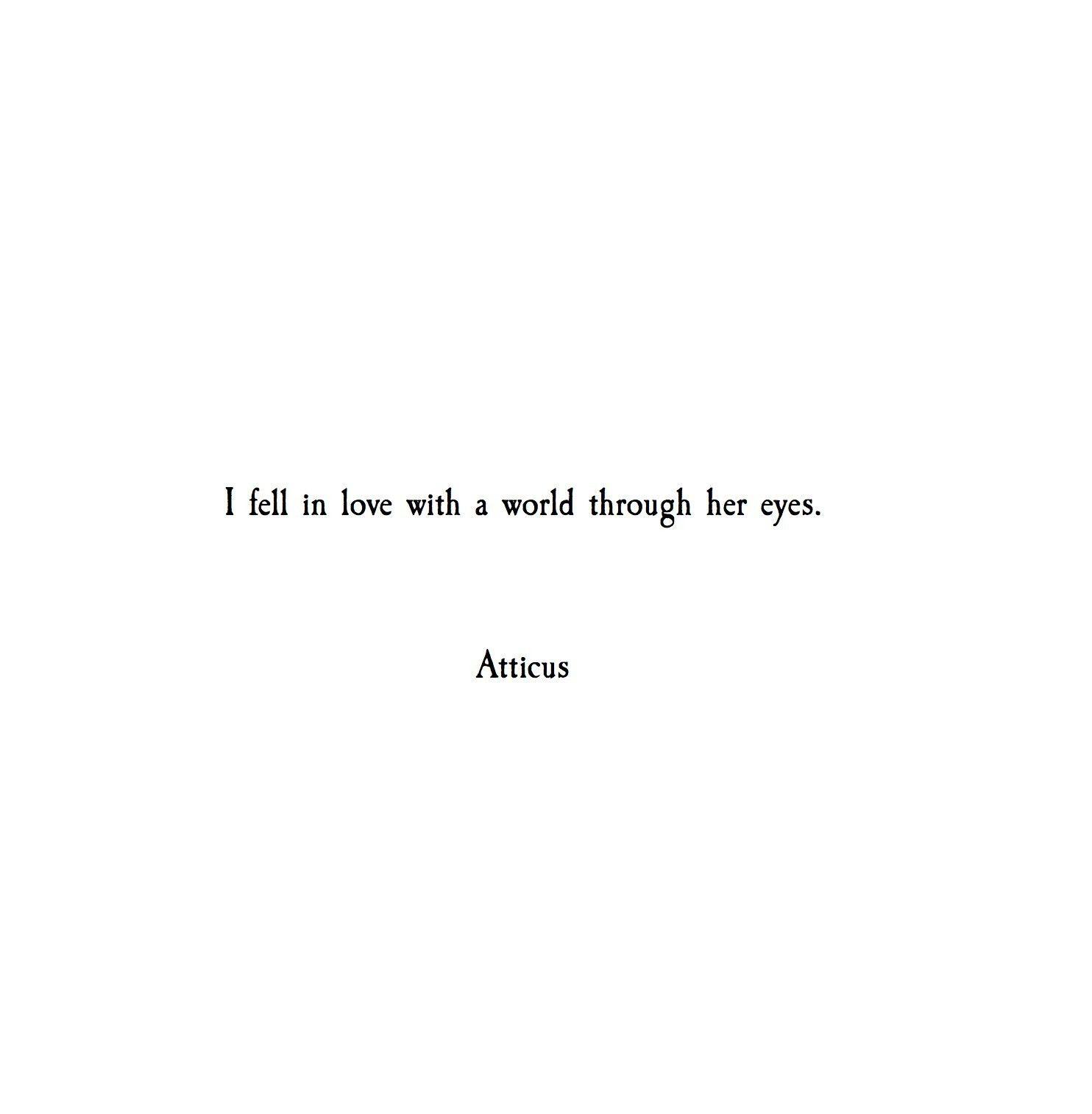 Atticuspoetry Atticuspoetry Quotes Poetry Short Quotes