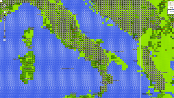 Italy 8 bit Map wow Italy makes a fantastic 8bit map check out