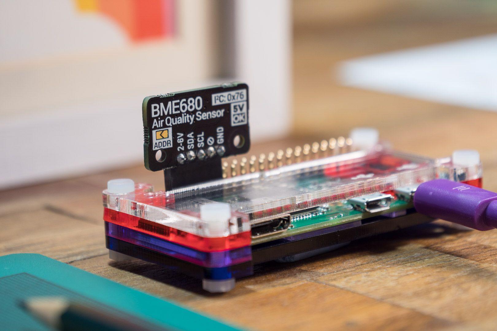 Bme680 Mounted On Pi Zero W Pinterest Arduino Diy And Usb Hub Buy Electronic Printed Circuit Boardboard Hubcircuit