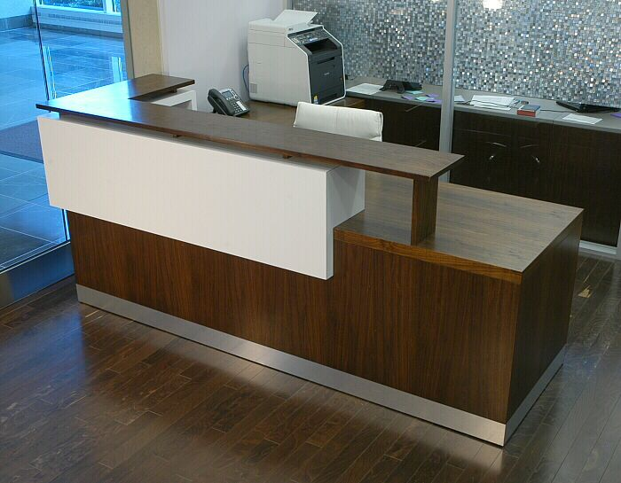 Duchamp reception desk reception pinterest reception for Reception furniture