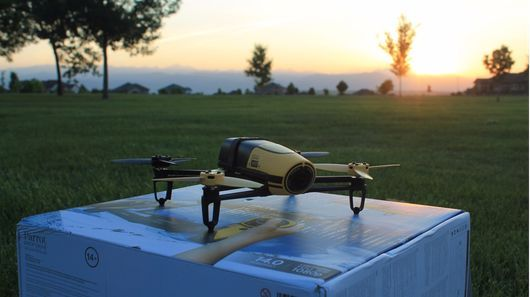 Review: Parrot Bebop drone and Skycontroller (Pictures/Video)