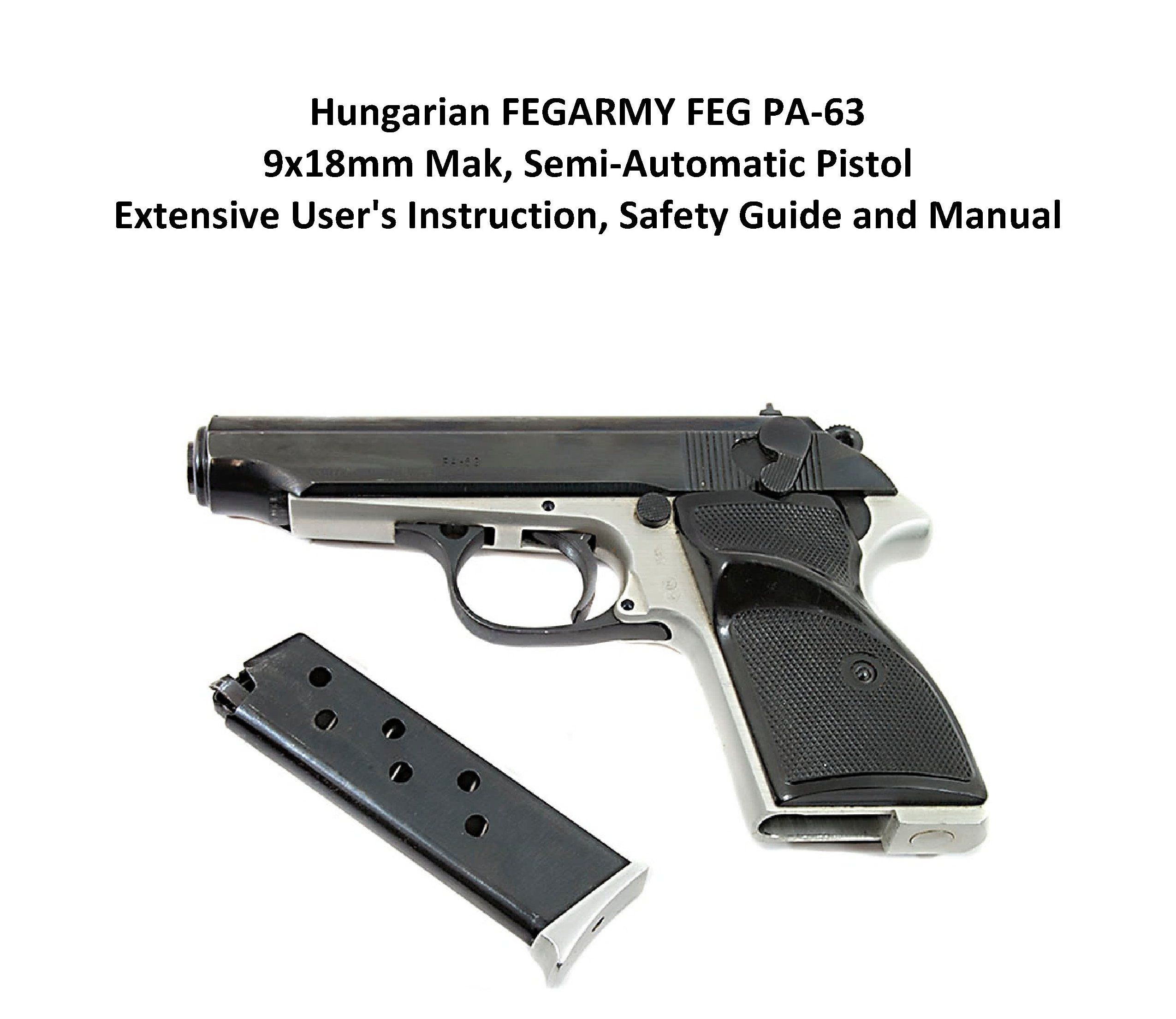 hungarian fegarmy feg pa 63 9x18mm mak semi automatic pistol rh pinterest com Handgun Stand Handgun in Hand