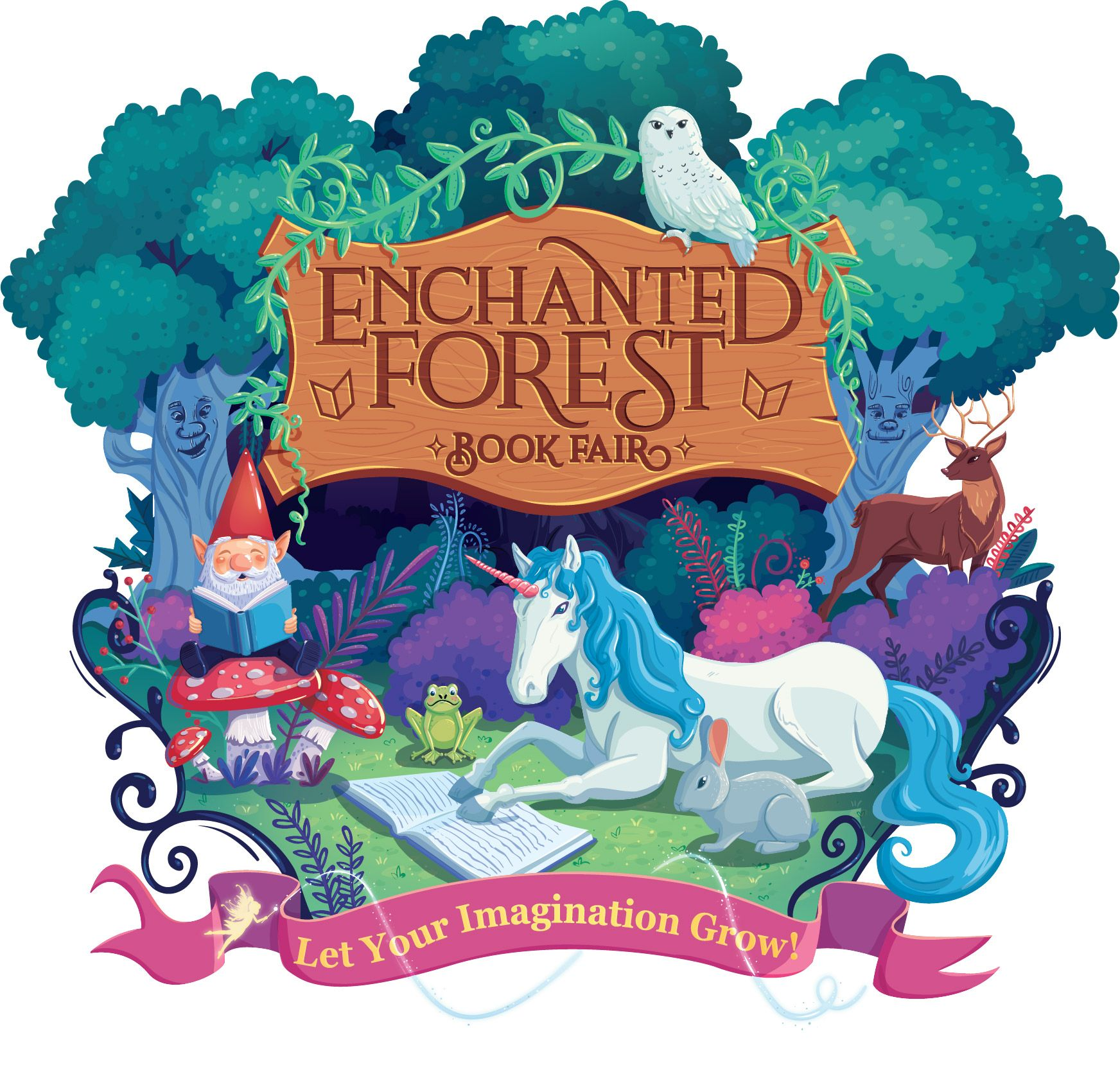 Image result for enchanted forest book fair